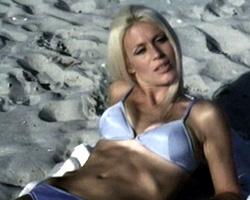 Perky nipples handjob video